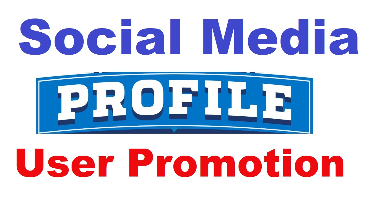 Real Social Profile User Or Post/Video Promotion High Quality