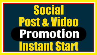 Social Photo And Video Promotion Instant Start