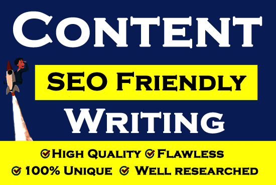 Write Unique,  Flawless Content For Websites Which Rank In Google