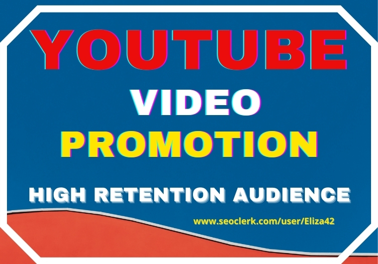 YOUTUBE VIDEO PROMOTION FROM ORGANIC HIGH RETENTION Audience