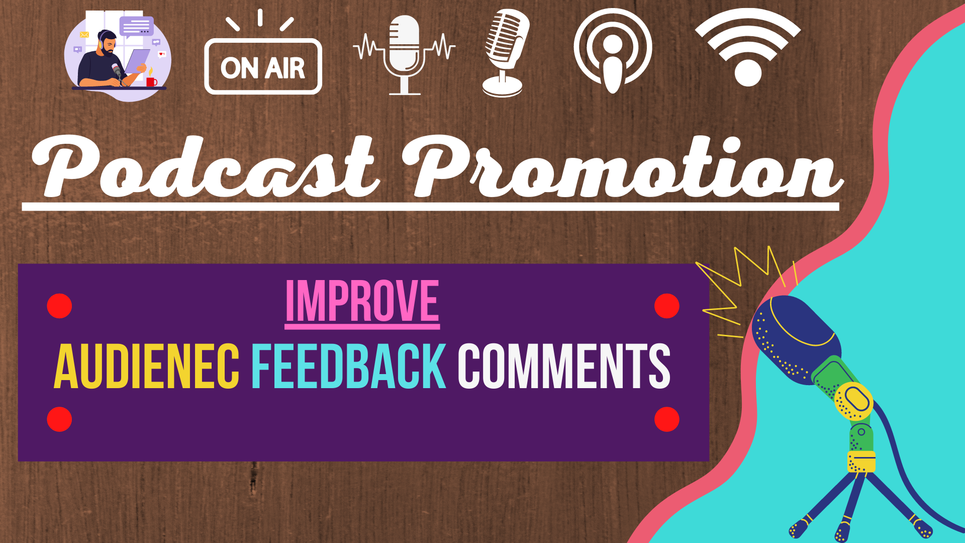 Natural Safe Podcast promotion with organic growth to your audience Feedback