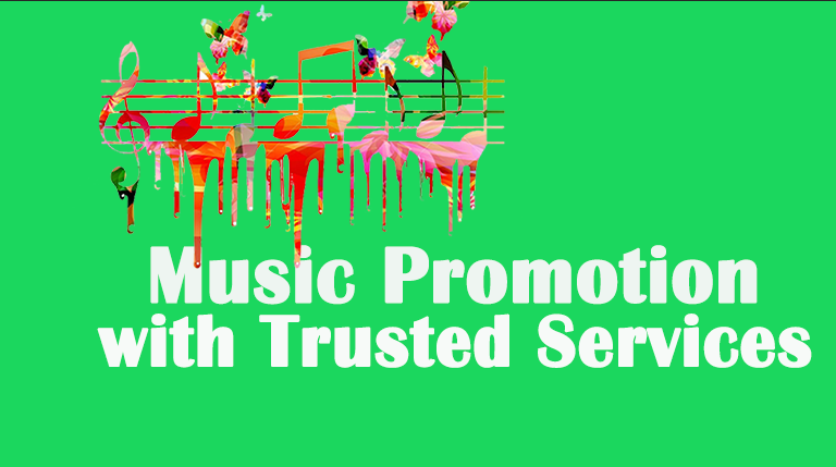 Promote your music track with active audience