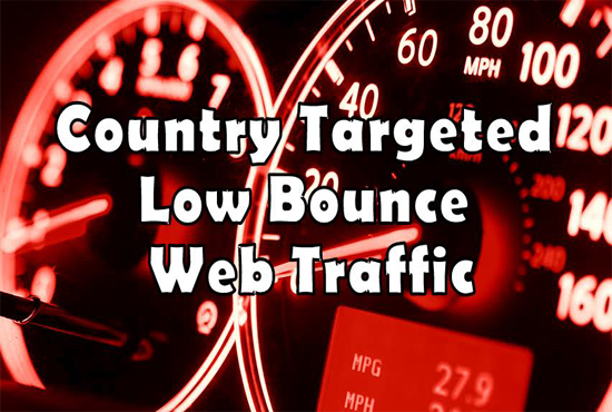 Drive Country Based Low Bounce keyword target google traffic