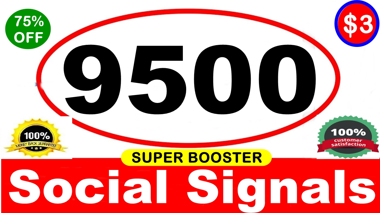 9500 SUPER BOOSTER SOCIAL SIGNAL- PINTERESTVerified AUTHORITY Google Page #1 Ranking SOCIAL SIGNALS
