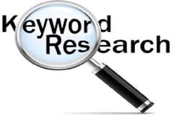 I will do 30 niche SEO keyword research