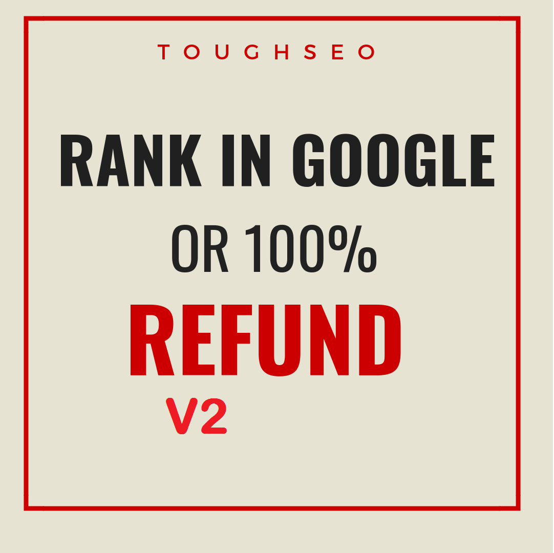 2019-RANK YOUR WEBSITE ON GOOGLE OR GET MONEY BACK