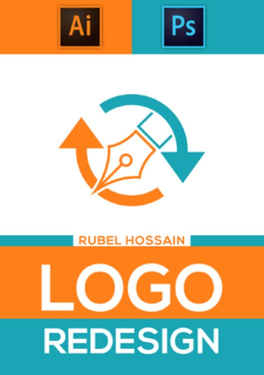 I will Redesign design 2 modern logo design