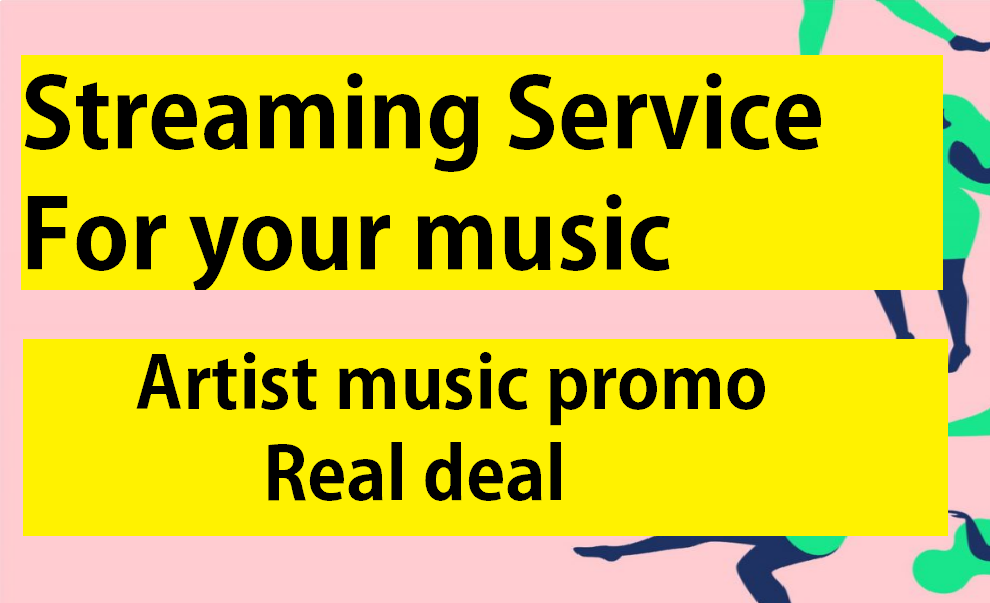 Boost your streams or artist profile with our all in one package