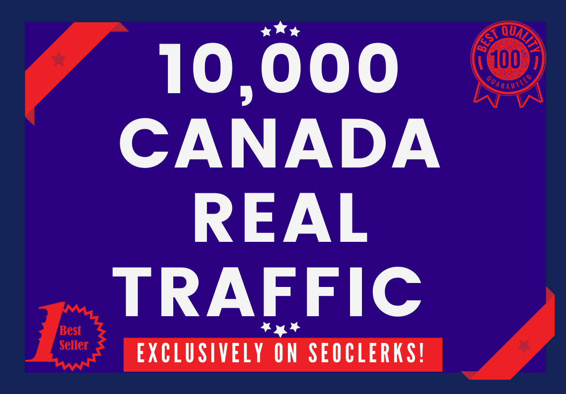 Send 10000+ Real Human Traffic from Canada