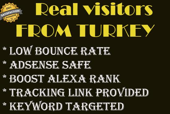 Send 10000+ real human traffic from turkey