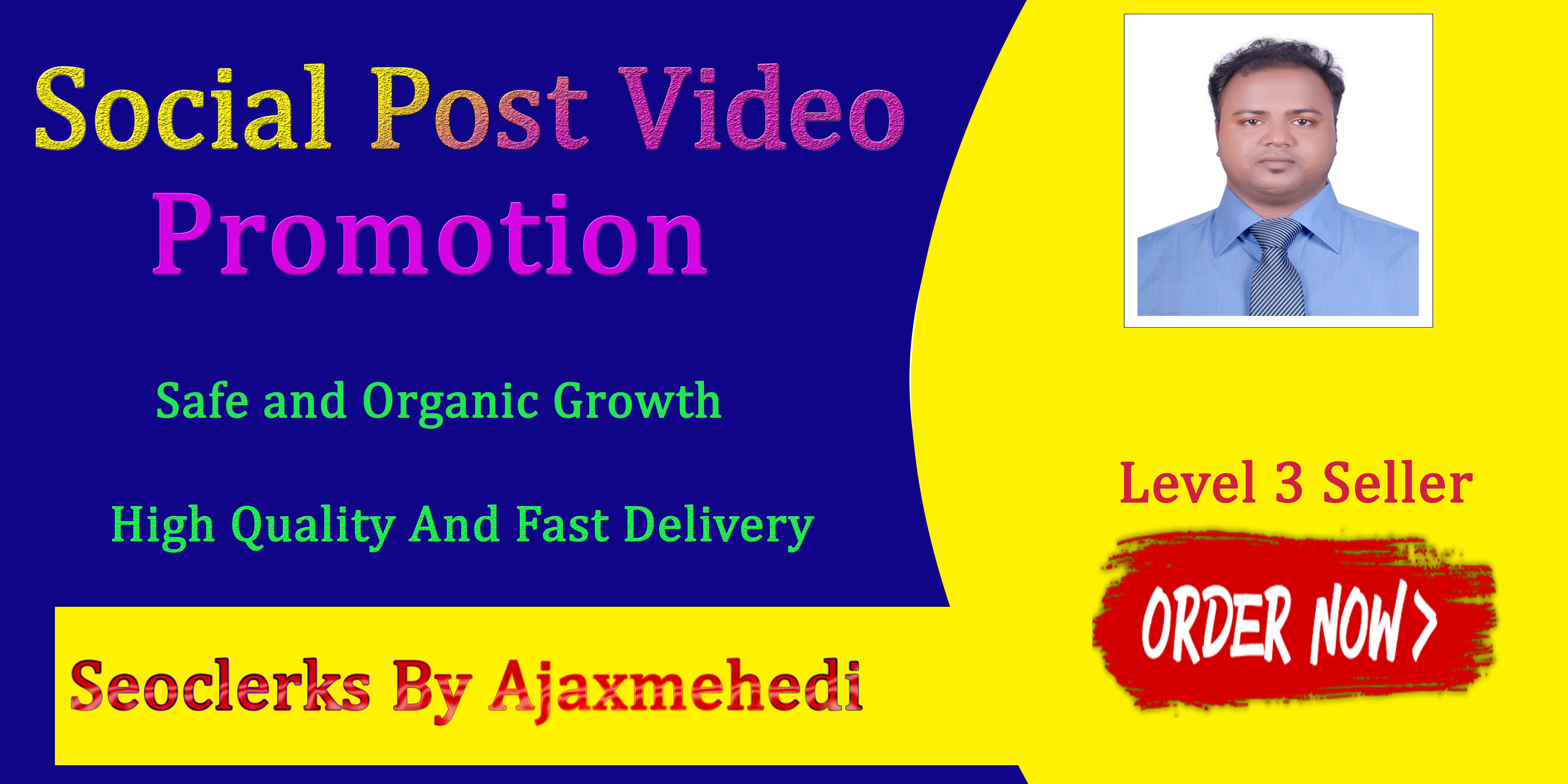 Do Genuine Viral Social Video P0st Promotion Non Drop