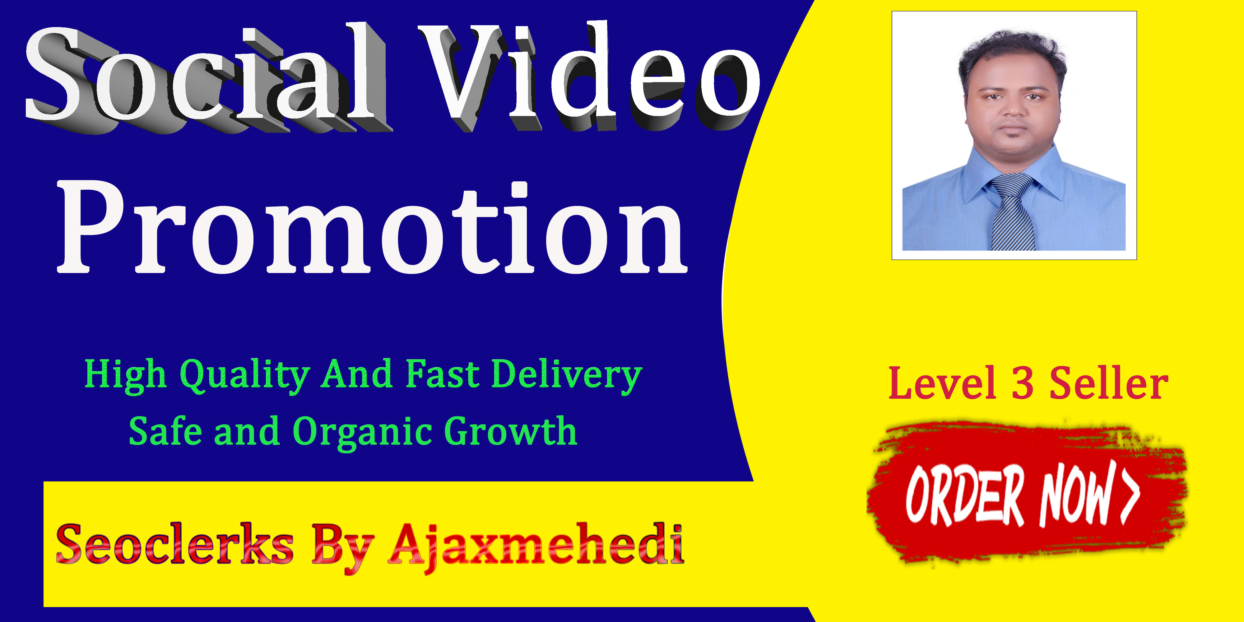 Genuine Video Post Promotion with Instant Start and Fast Delivery Social Media Advertise