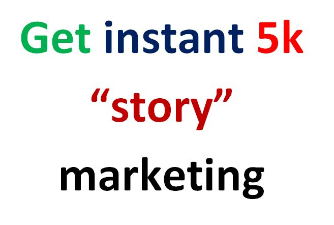 super fast get upcoming story marketing on social media service