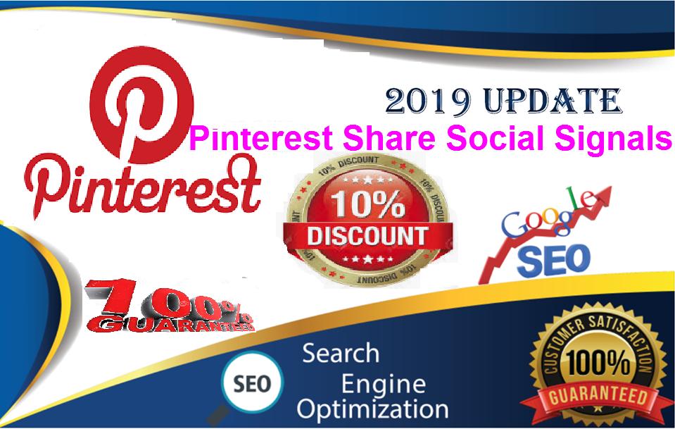 Gig Offer for You 50,000 pinterest LifeTime USA, UK, UAE, share Real SEO Social Signals Share Bookmarks
