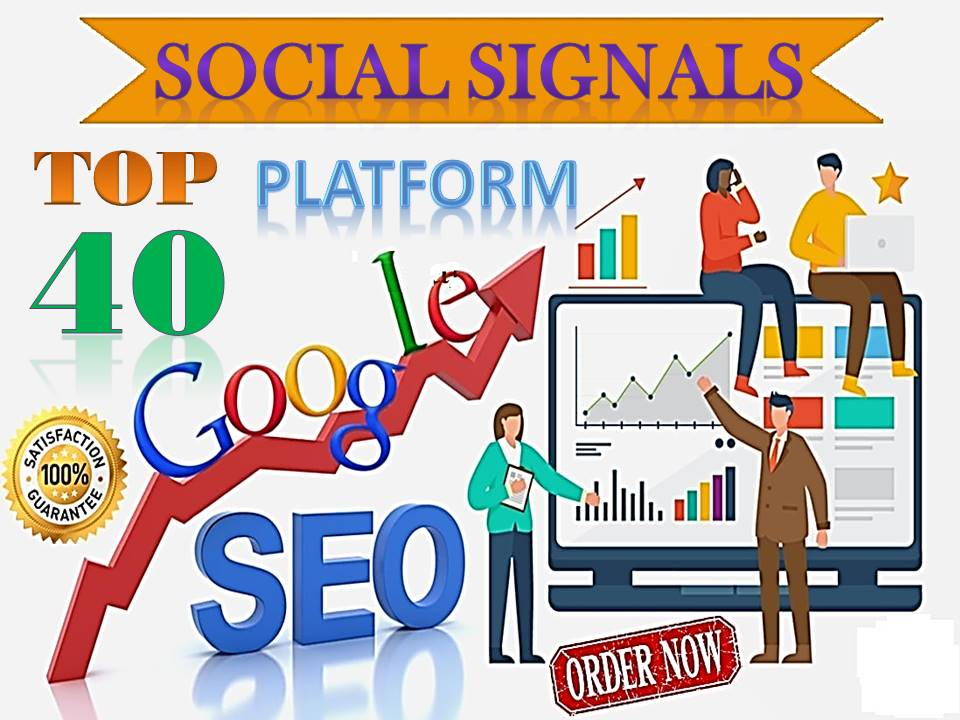 TOP 40 Sites Social Media Best Sites 81,000+ Mixed Social Signals Bookmarks Important Google Ranking