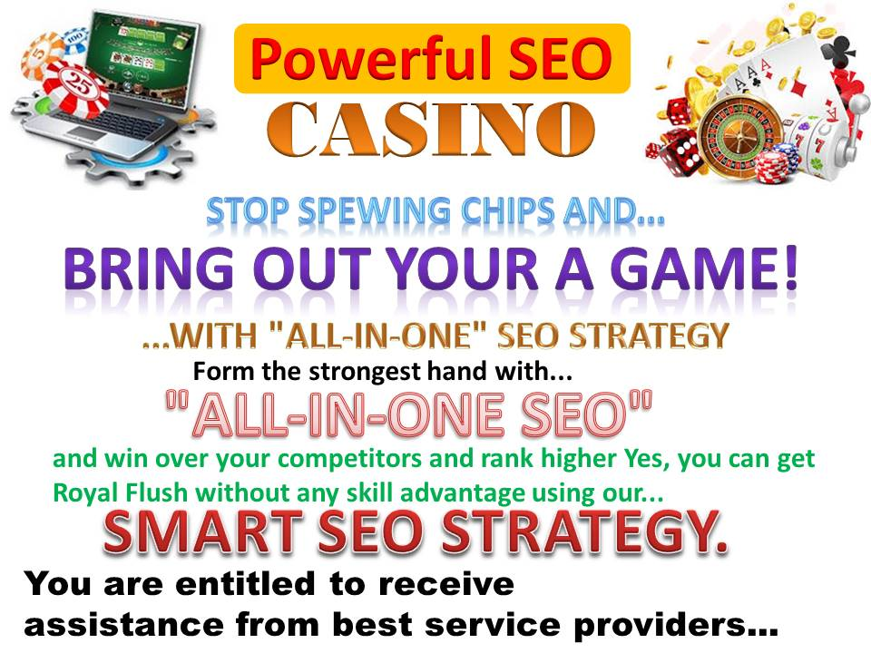 Get Powerful skyrocket On-Casino/Poker/Gambling SEO Link Wheel Campaign Boost Your Google Ranking
