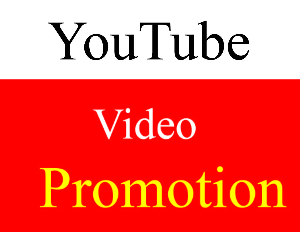 I Will do best Fast Organic YouTube video promotion & Marketing