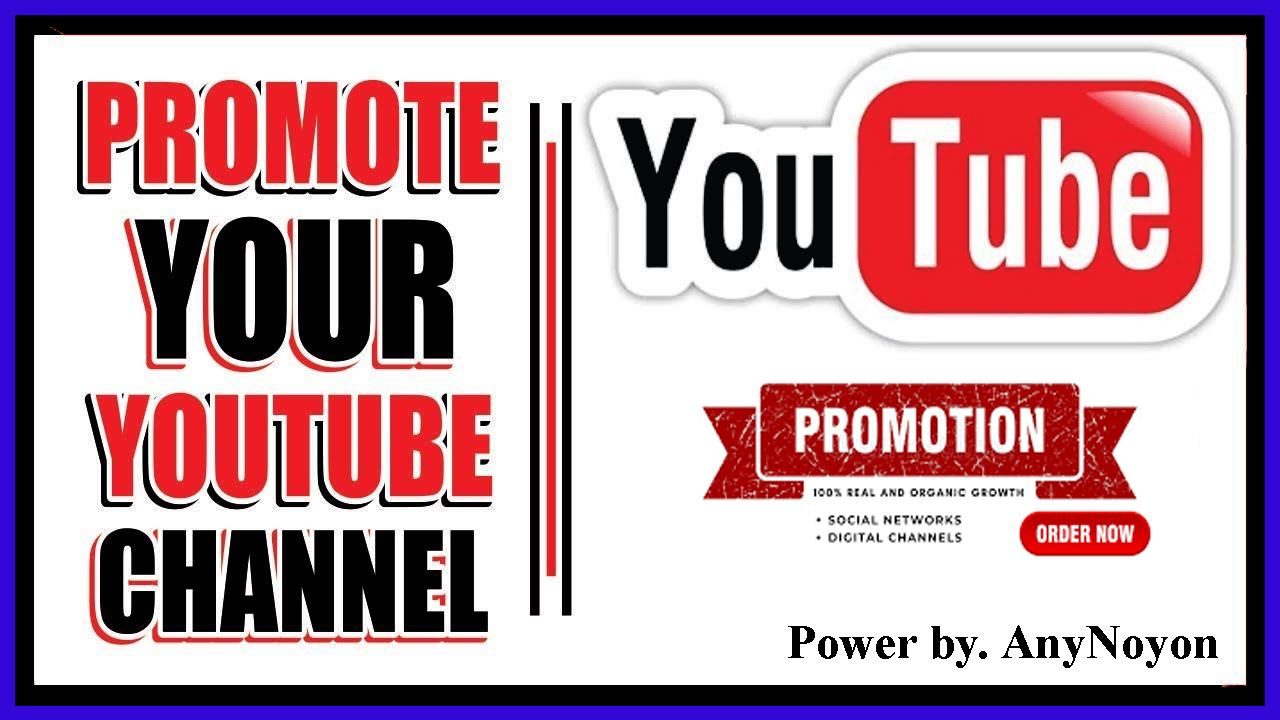 YouTube Video Promotion All Package within 24-48 hours Delivery