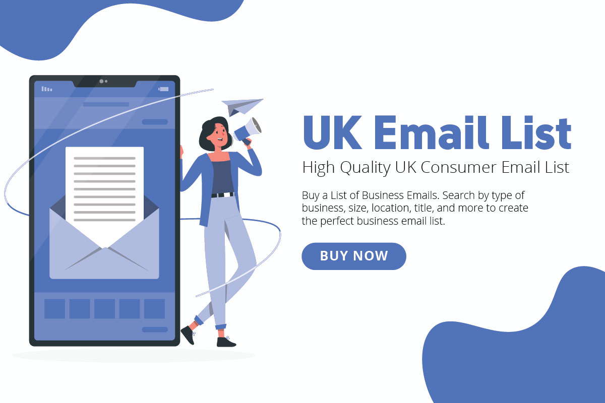 Buy Email List Provide UK 10,000 Consumer Potential Retail Buyer Email List Active & Verified