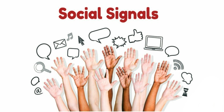 Give 9800 Organic Social Signals to Boost your Website on Google