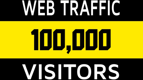 Provide 100000 visitors from social network