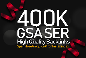 Create 400,000 Authority GSA SER Verified Backlinks