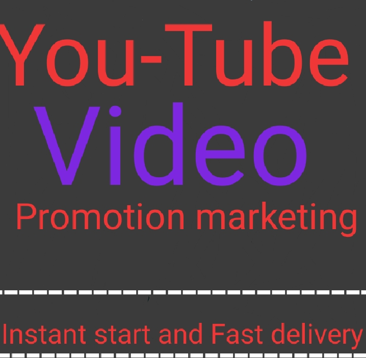 High quality & Organic YouTube video promotion and marketing