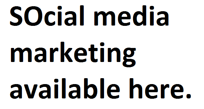 Social media marketing promotion service