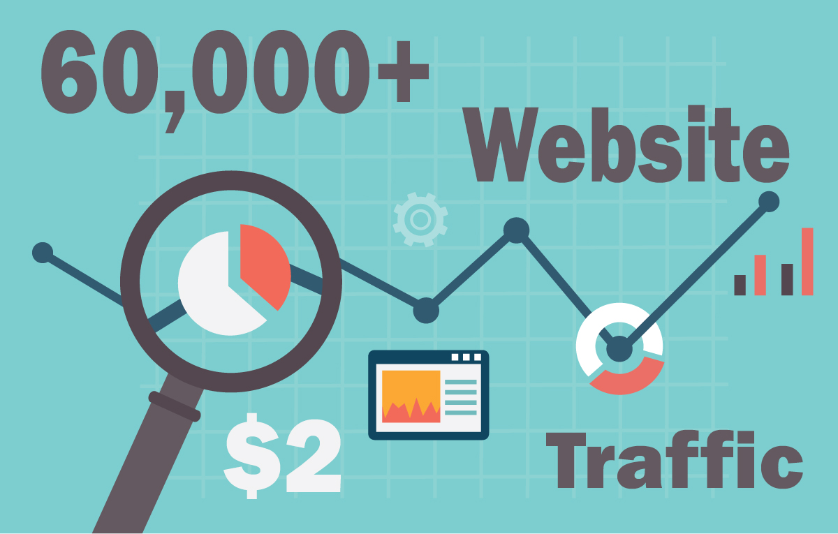 60,000+ keyword targeted traffic from google