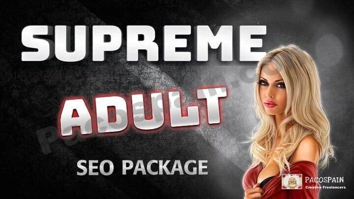 Supreme Adult/Casino SEO Package &ndash Top Rankings