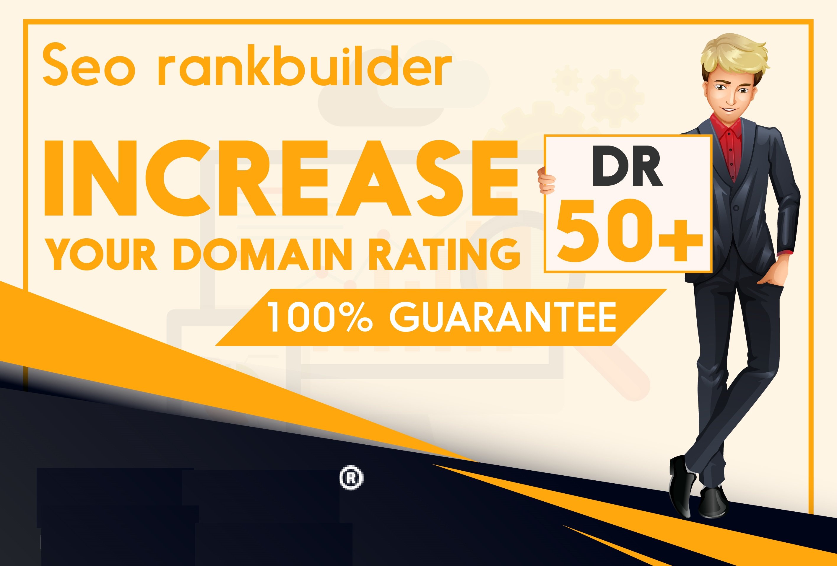I will increase domain rating Ahrefs 30 plus