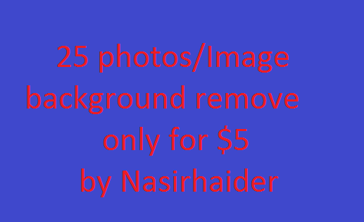 do 25 image background remove or change professionally