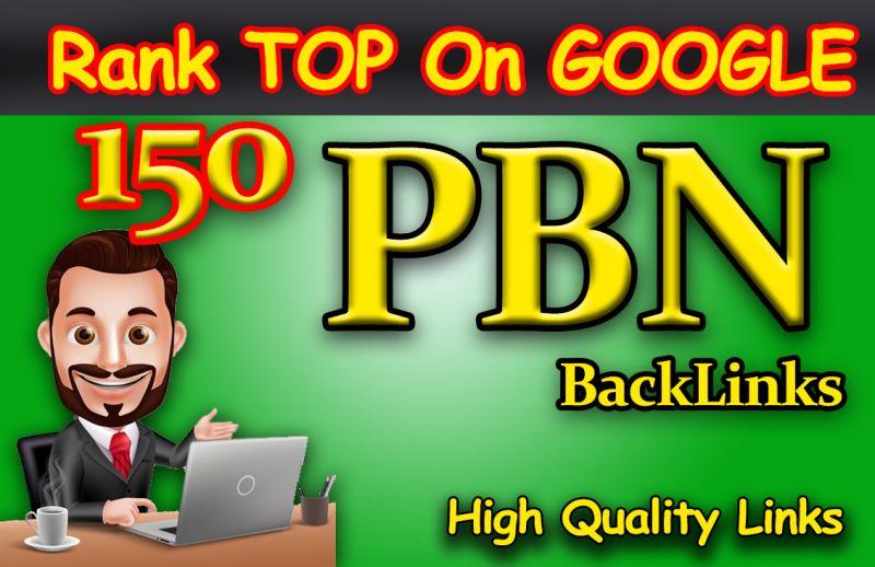 Create 150 DA 60+ High Quality PBN Links