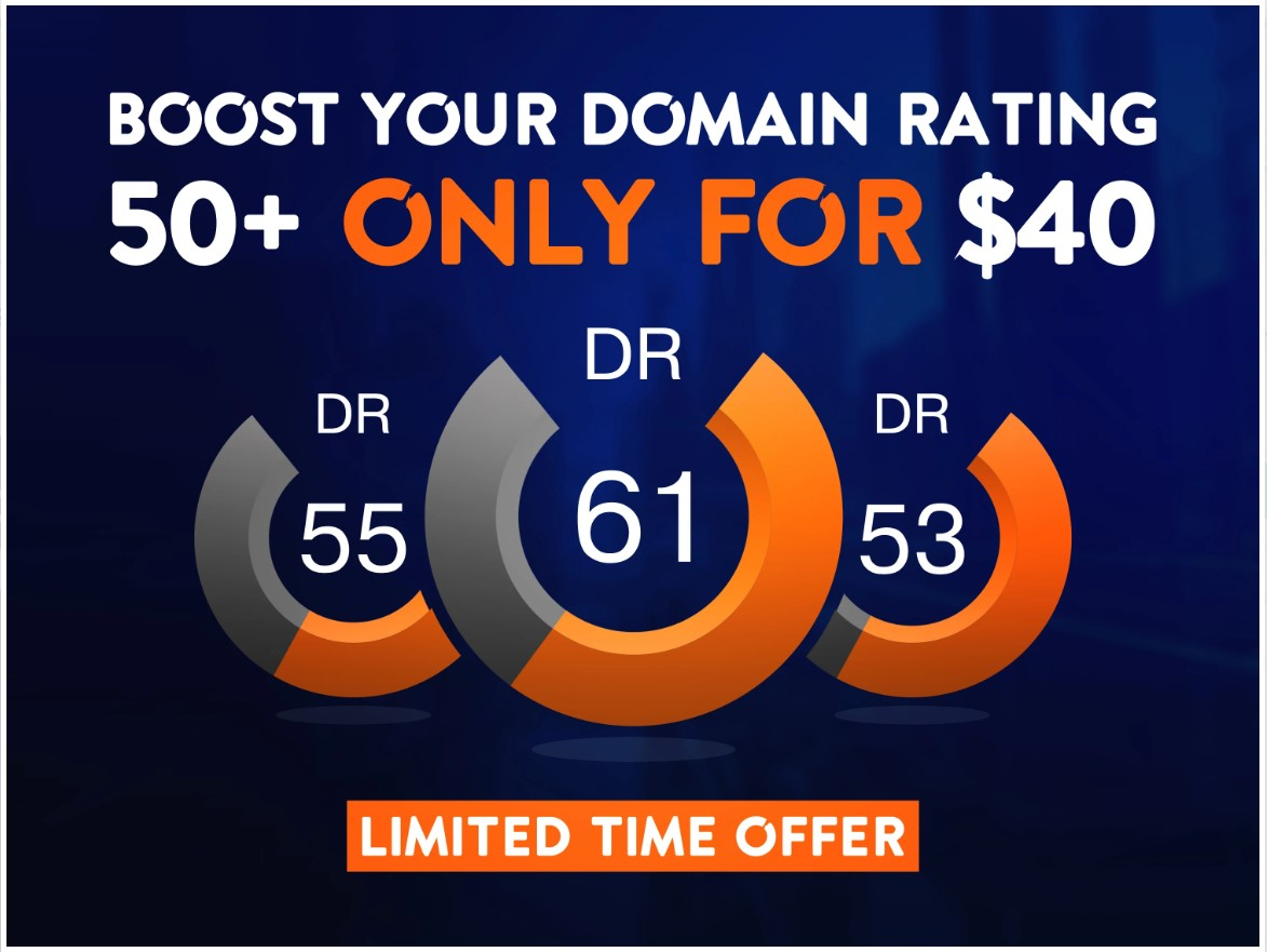 increase domain rating DR 53 in just 15 Days