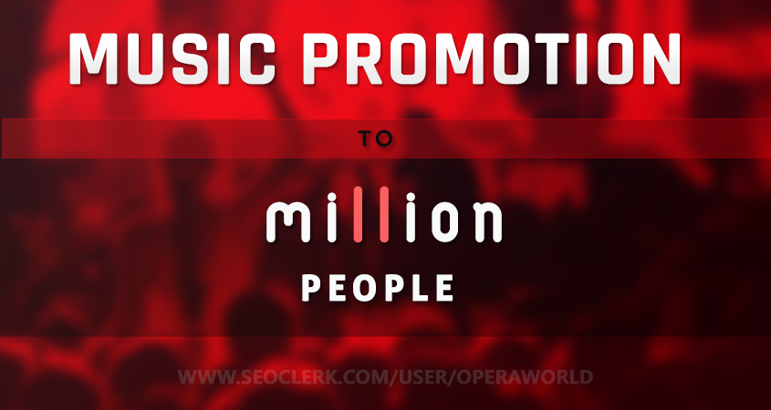 I will Promote Your Music To Million People