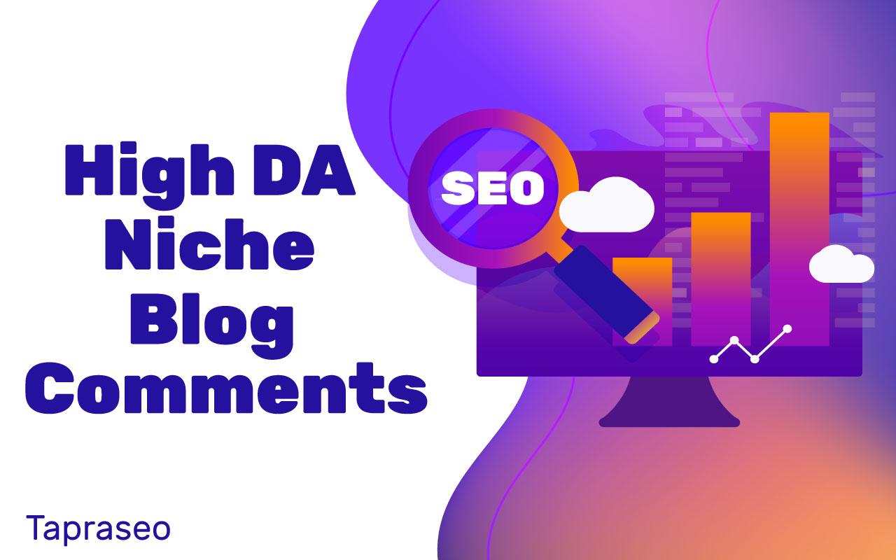 20 High DA Niche Blog comments