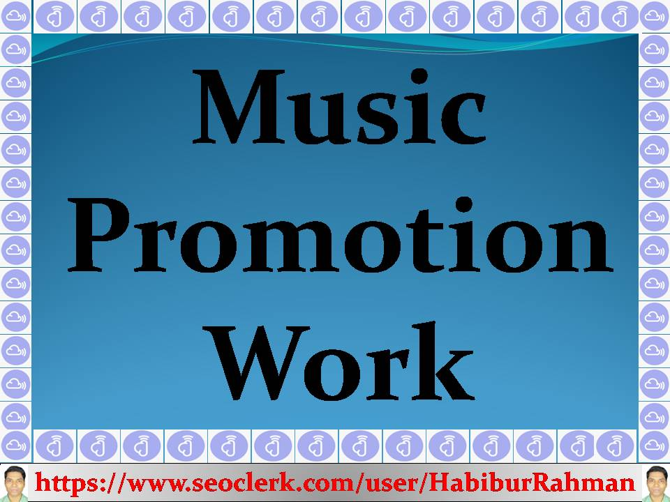 Non-stop music promotion service to your music or song track profile