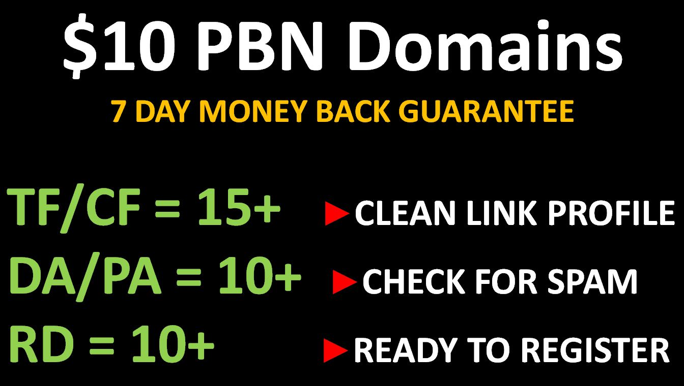 Dominant PBN Domains - Rule Top Ranks