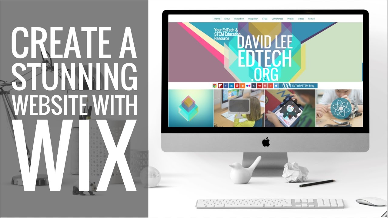 design WIX Website or do Wordpress site to WIX