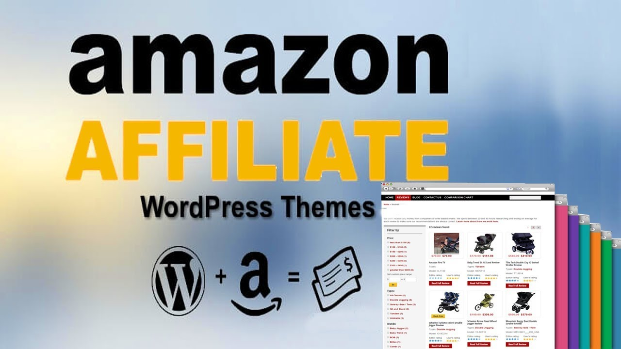 create autopilot Amazon affiliate Wordpress website