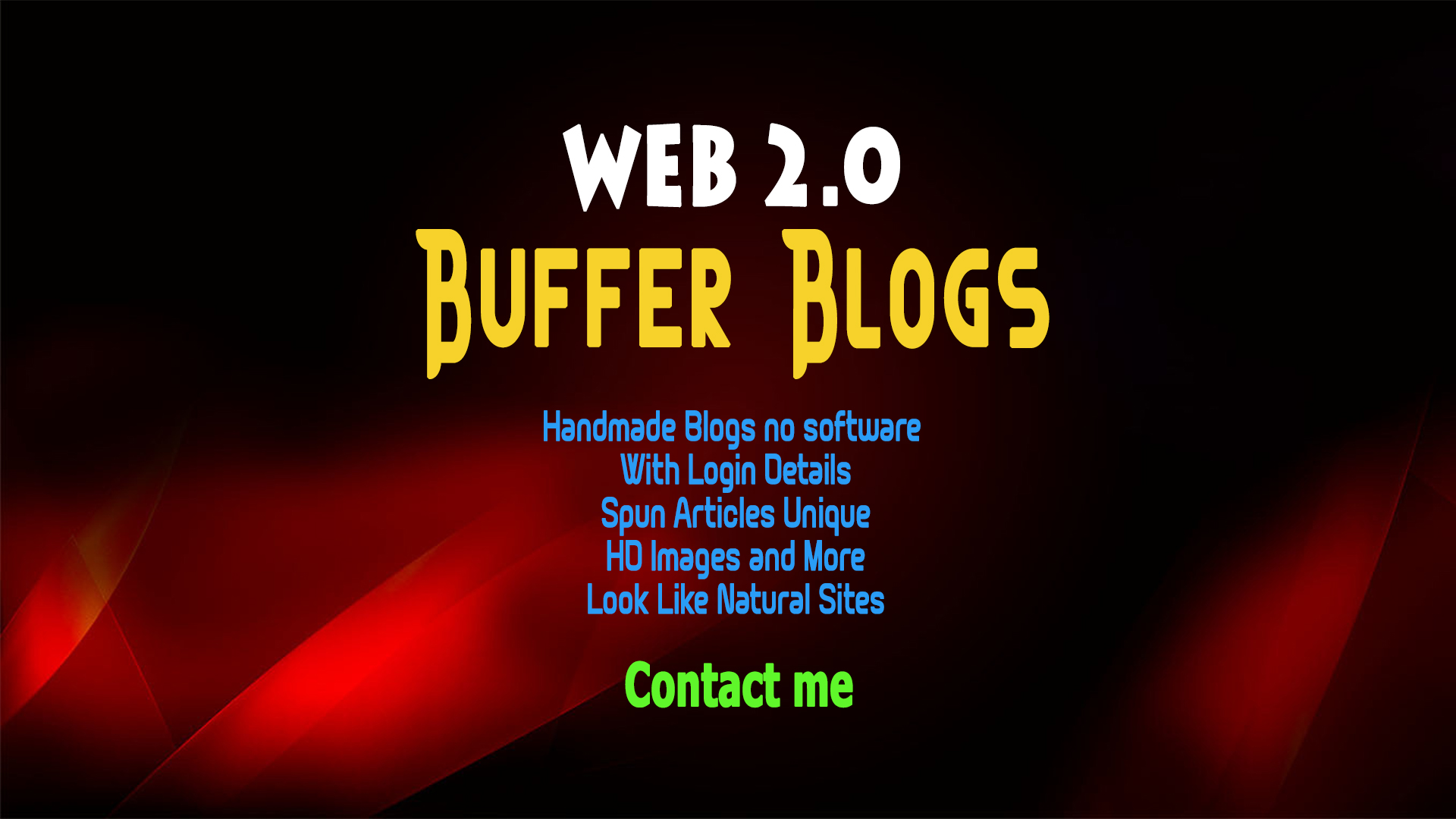High PR Web 2.0 Blogs,  Backlinks - Quality Links for 7