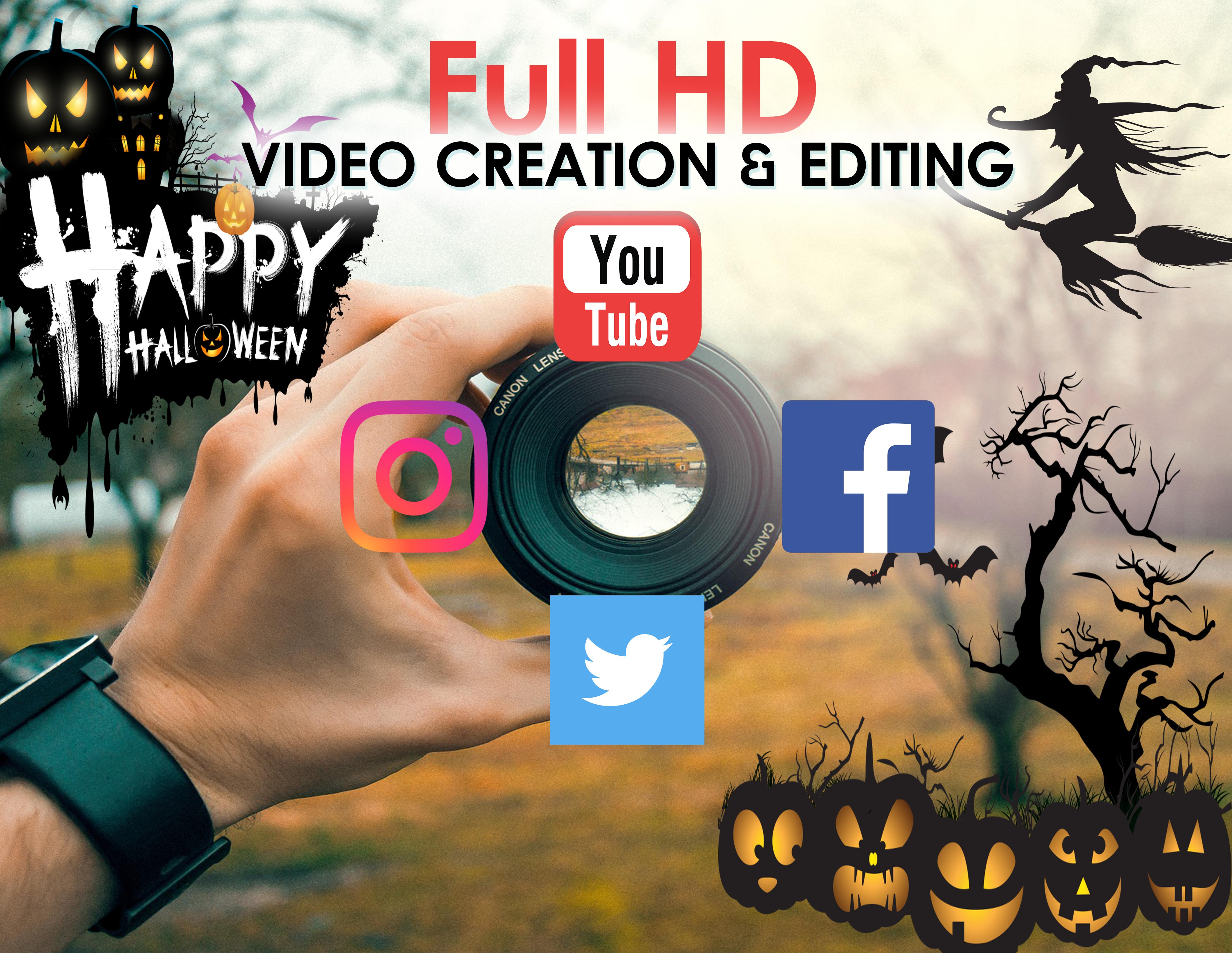 VIDEO CREATION AND EDITING FOR SOCIAL MEDIA PLATFORMS