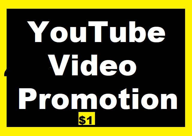 YouTube BEST Videos Promotion High Quality and Super Fast