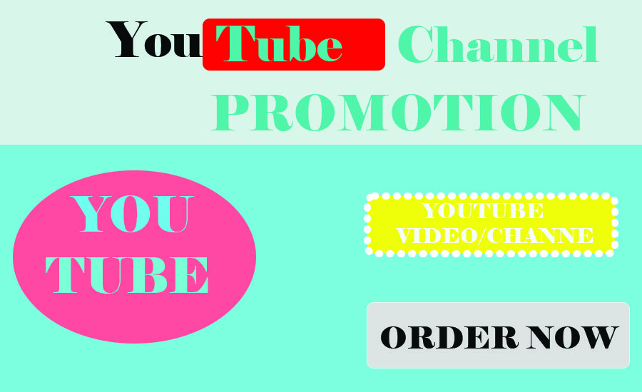 Get Promotion Your YouTube Video/chanel With social media marketing