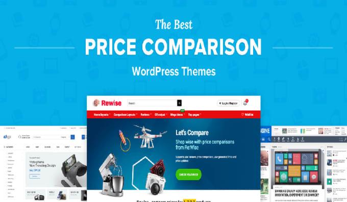 I will create affiliate price comparison website using content egg