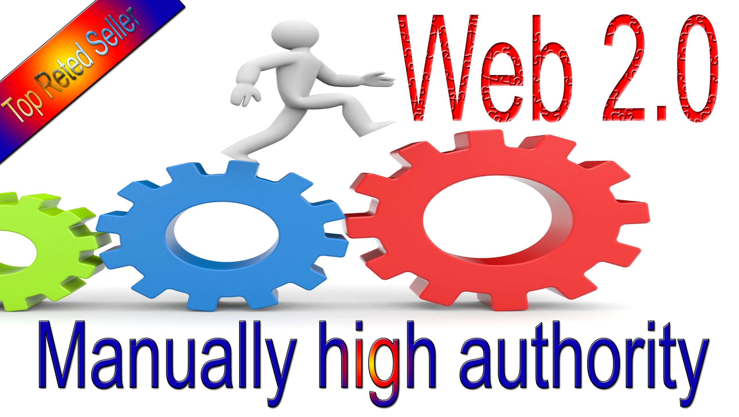 Get rank with 30 manually high authority web 2.0 backlinks