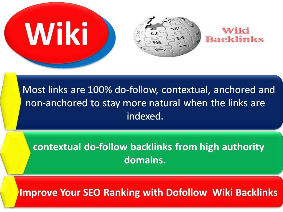 Improve Your SEO Ranking with 1000 Plus Dofollow Wiki Backlinks