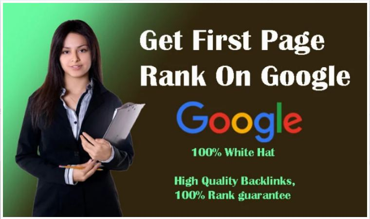 Gets your website ranked First page on google for 5 keyword's- On Page setup only Main Page
