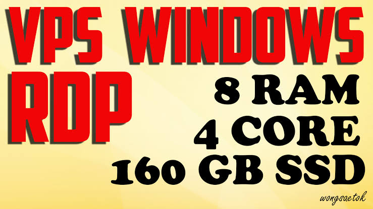 Fast Delivery Windows VPS 4 Core CPUs 8 GB RAM 160 GB SSD - The Cheapest in Seoclerk