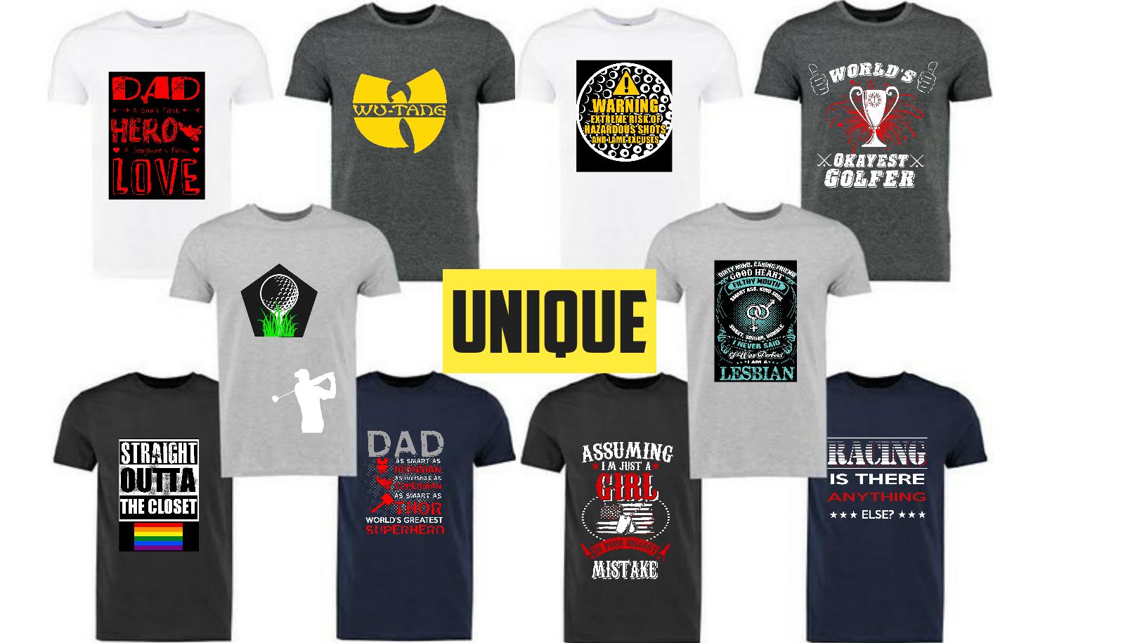 500 bulk t shirt design Unique